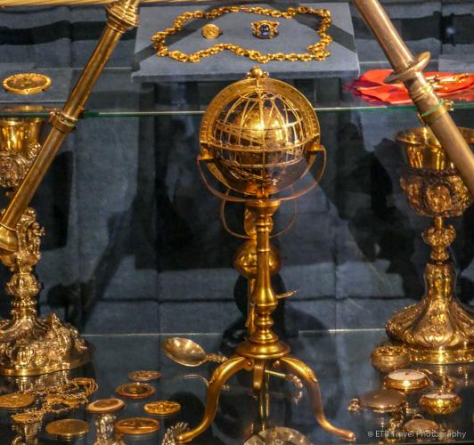 Oldest globe in America at Collegium Maius