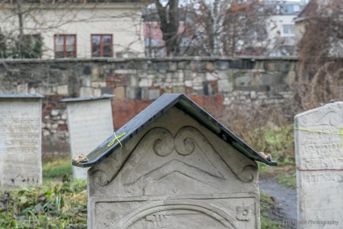 Old Cemetery in Krakow's Jewish Quarter