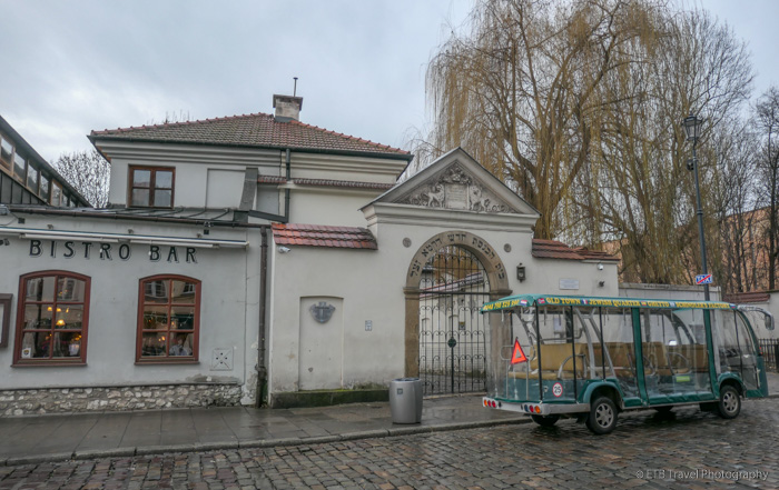Remuh Synagogue in Krakow's Jewish Quarter