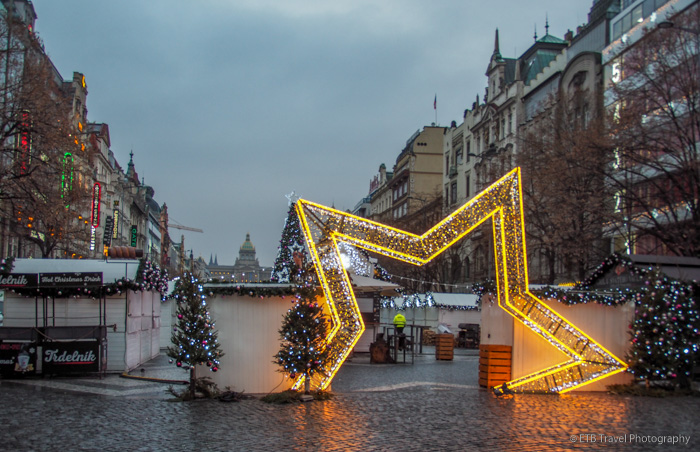 Chirstmas Market in Republic Square, Prague