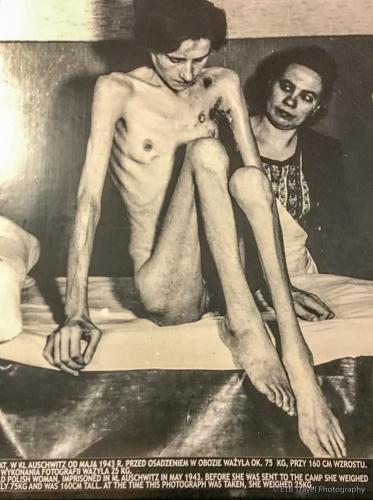 picture of survivor from Auschwitz