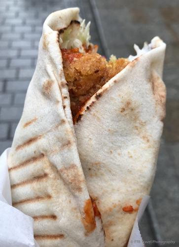 Falafel Kebab in Krakow