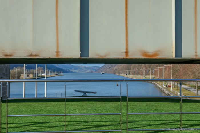 passing under bridge on Danube River Cruise