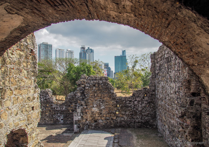 Panama Viejo Ruins in Panama City