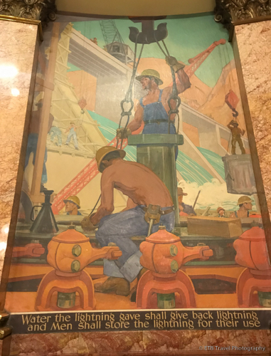 mural at the Colorado State Capitol