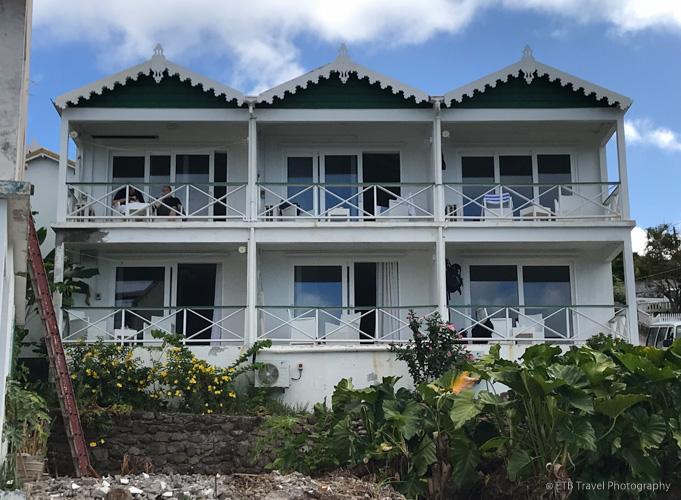 Juliana's hotel in Saba