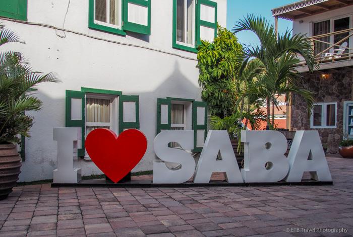 I love Saba sign