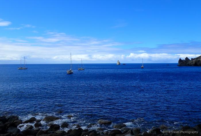 Wells Bay in Saba