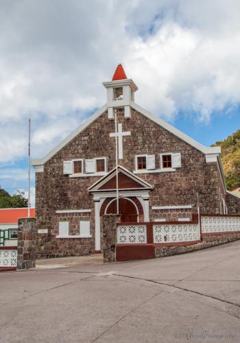 church in Saba