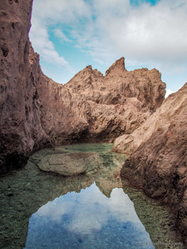 tide pool in Saba