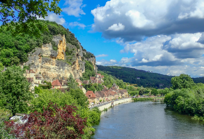 La Roque-Gageac on the dordogne river