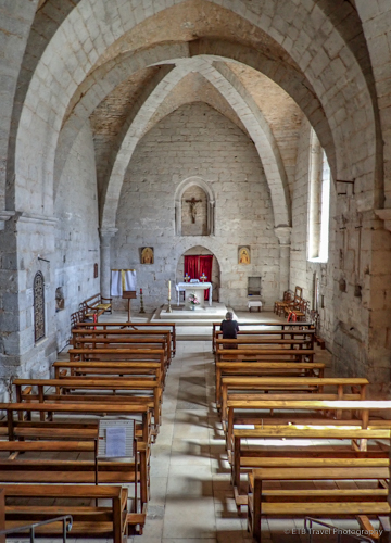 crypt in rocamadour
