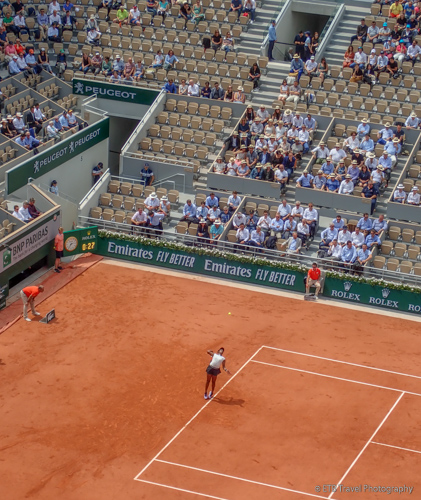 Sloan Stephens at Roland-Garros