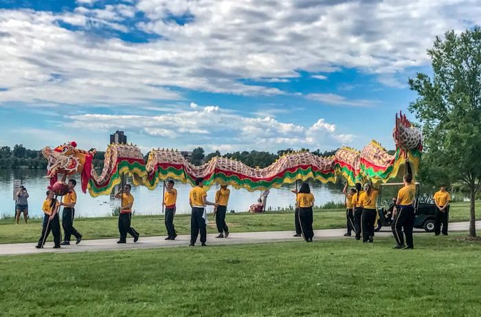 dragon at Colorado Dragon Boat Festival