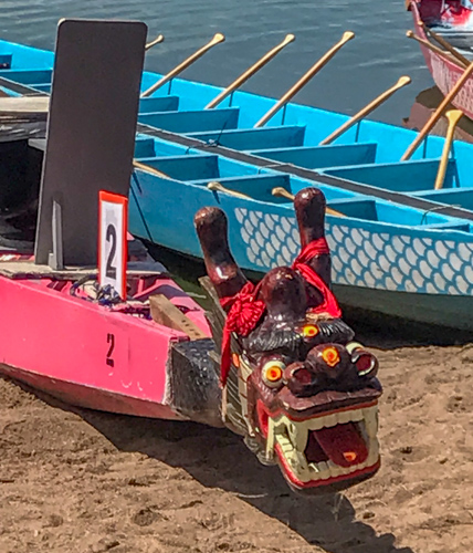 dragon boat at Colorado Dragon Boat Festival