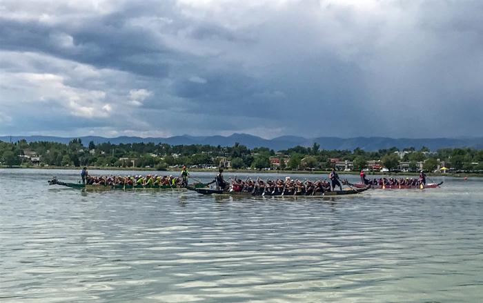 races at the Colorado Dragon Boat Festival