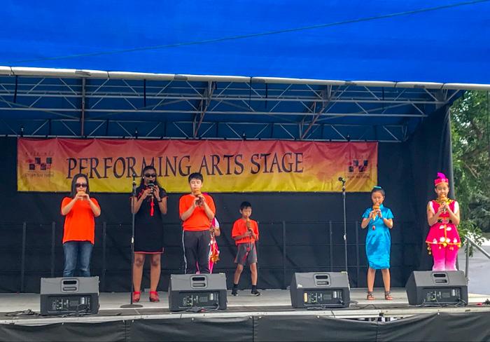 music at Colorado Dragon Boat Festival