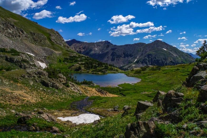 Parika Lake in Rocky Mountain National Park