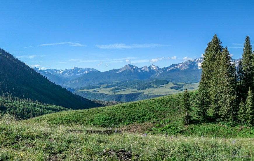 view from Last Dollar Pass
