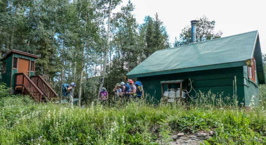 Blue Lakes Hut