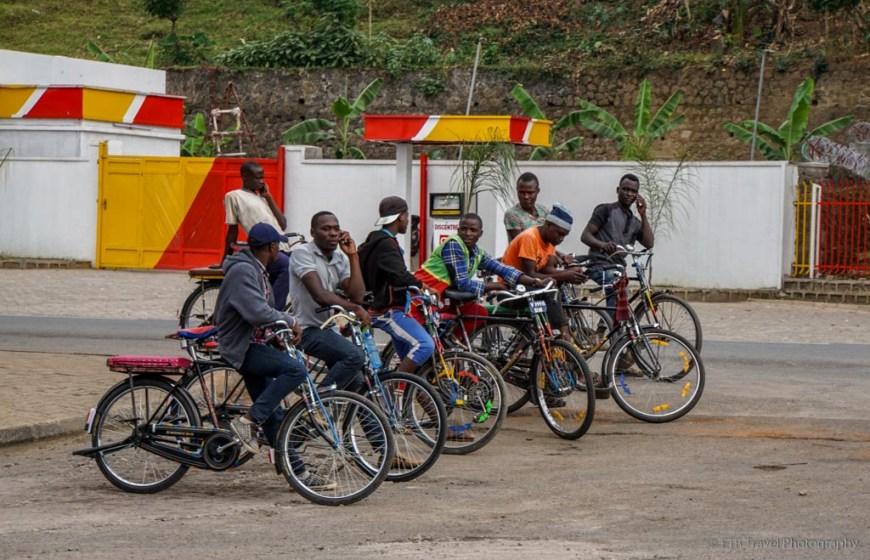 bike taxies in rwanda