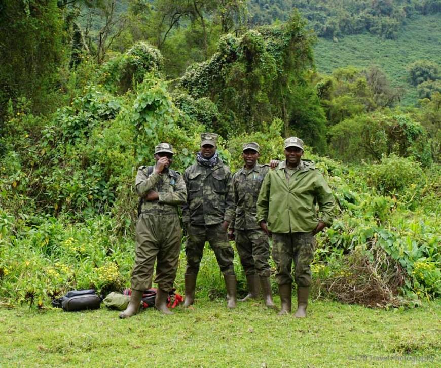 gorilla trackers in rwanda
