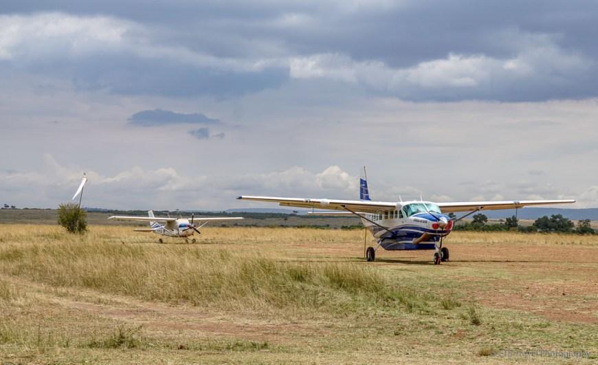 airport in the Masai mara