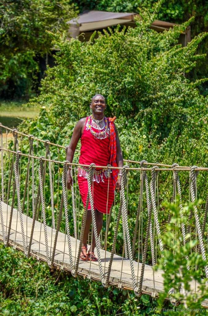 Maasai greeter