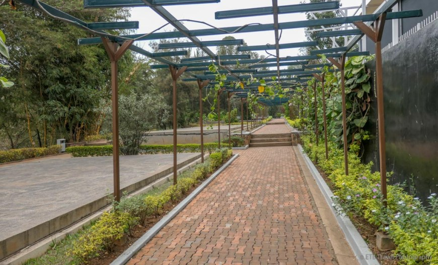 mass graves at genocide memorial