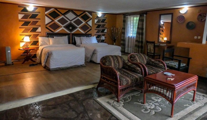 room at Mountain Gorilla View Lodge