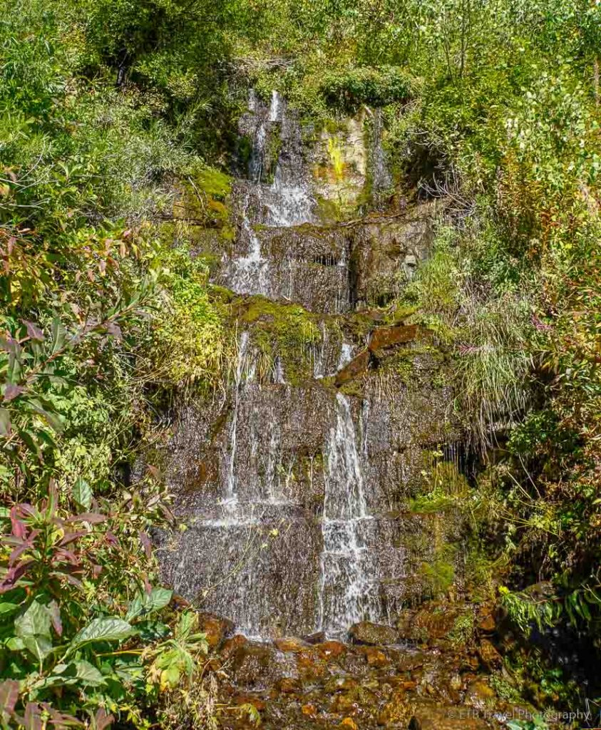 Another waterfall on Aspen Grove Trail
