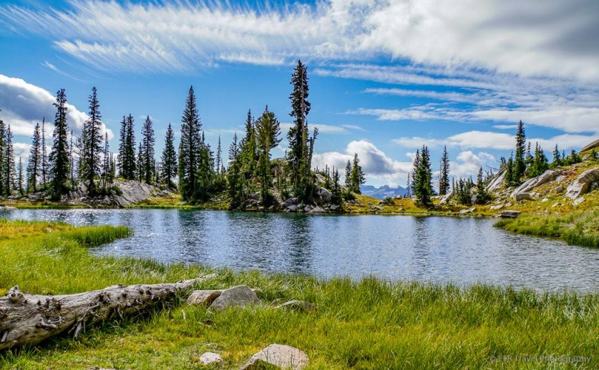Silver Glance Lake in American Fork Canyon