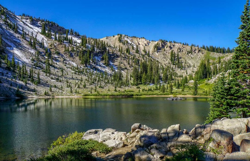 Lake Catherine in Big Cottonwood Canyon