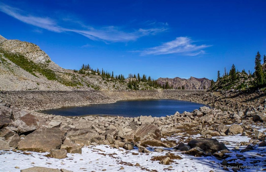 White Pine Lake in Little Cottonwood Canyon