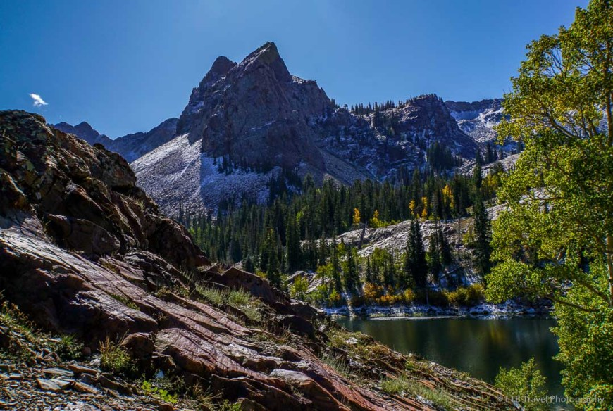 Lake Blanche in Big Cottonwood Canyon