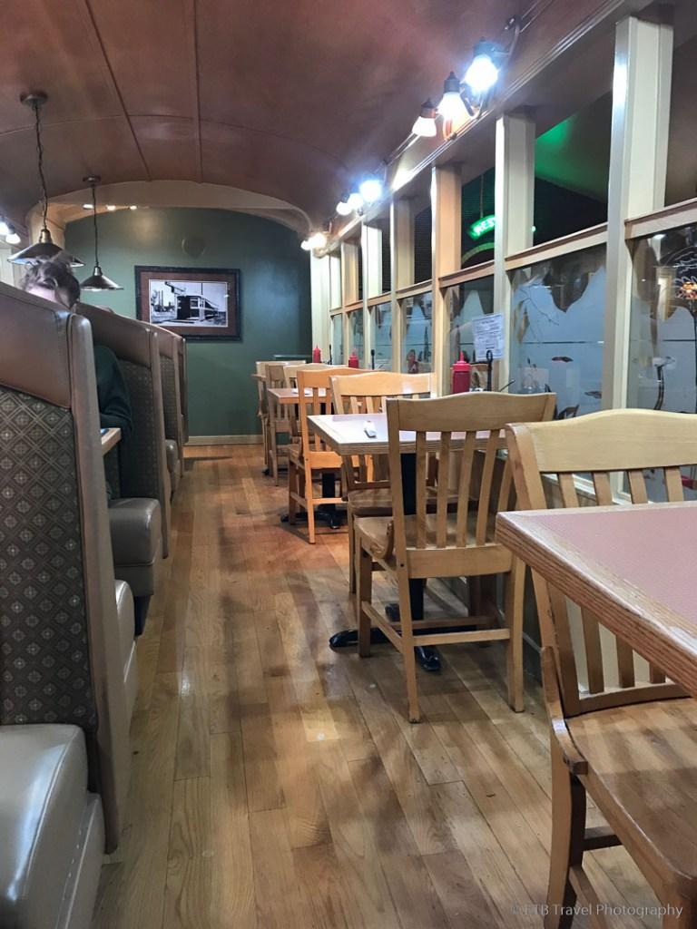 Inside Ruth's Diner