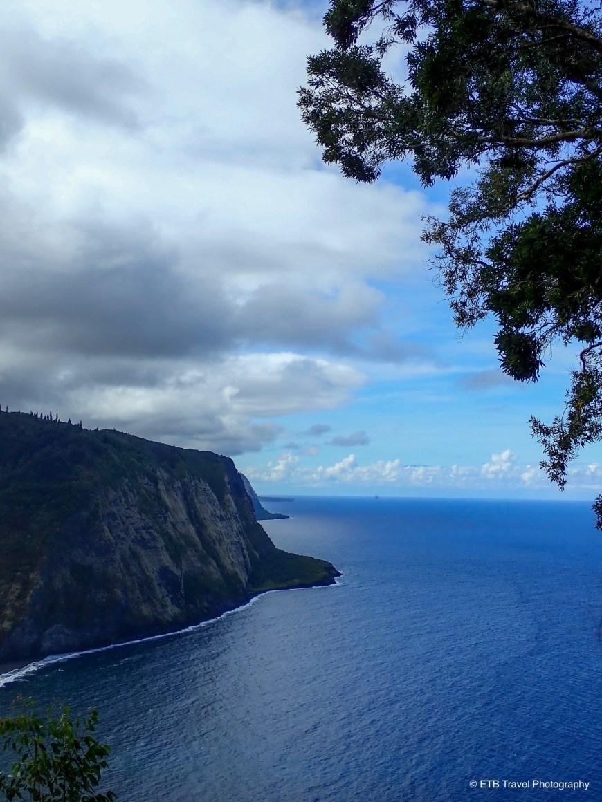 Waipi'o valley overlook on the Hamakua coast