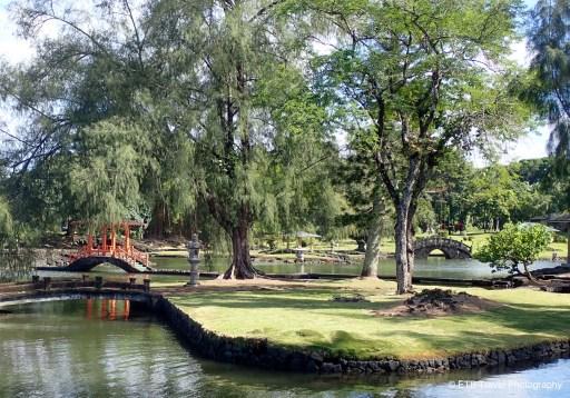 Liliʻuokalani Park and Gardens and Coconut Island in Hilo