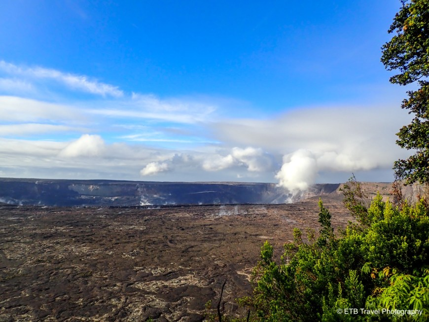 Crater Rim Trail in Hawaii Volcanoes National Park