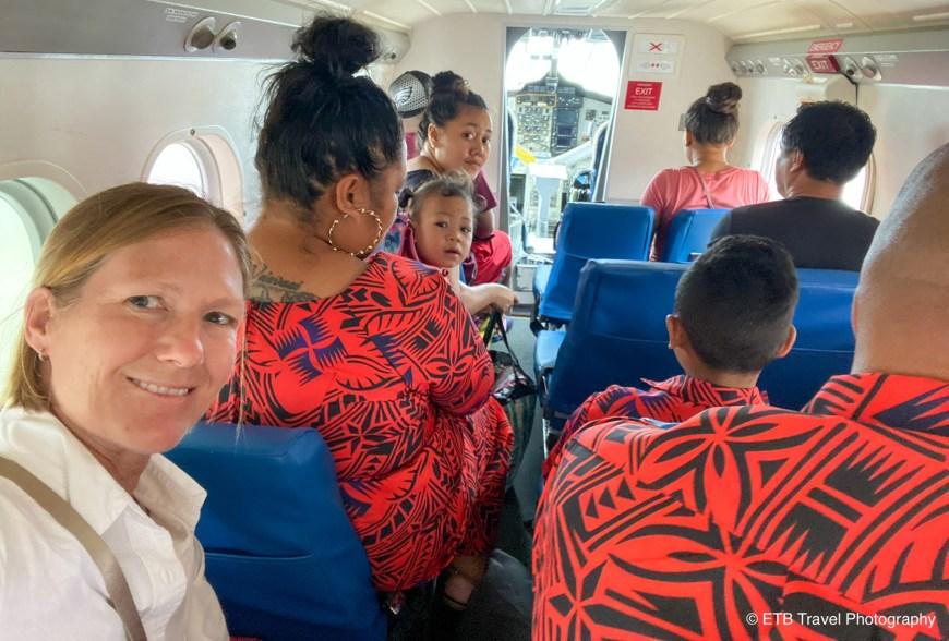 On the way to Samoa