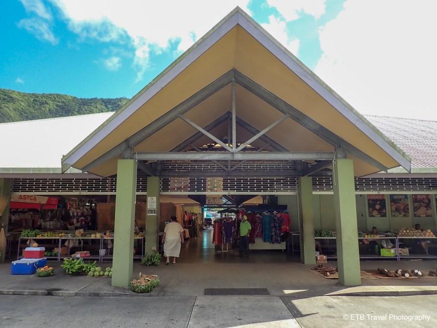 Fagatogo Market In American samoa