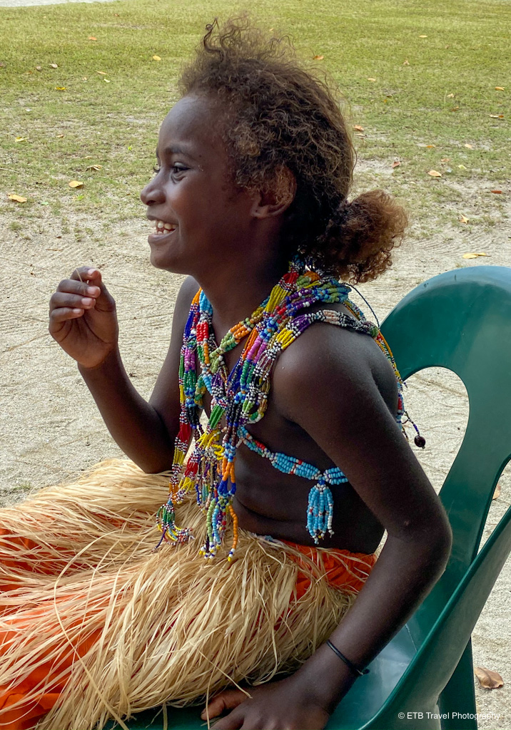 young solomon island girl