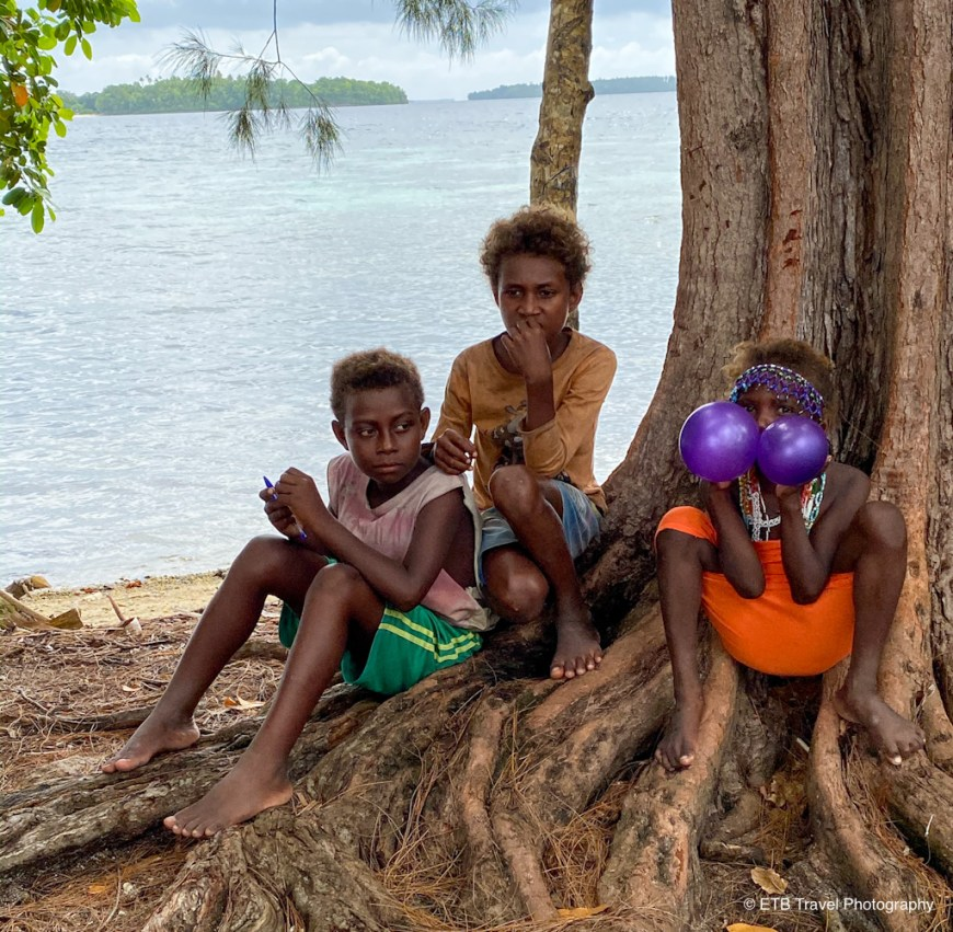 kids in the solomon islands