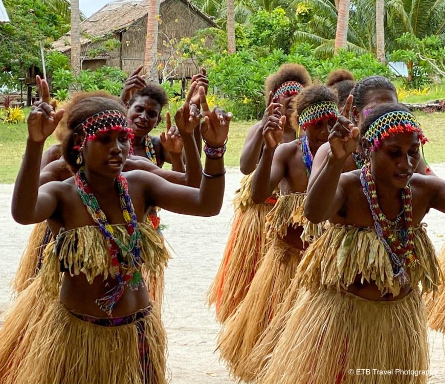ladies dancing in the solomons