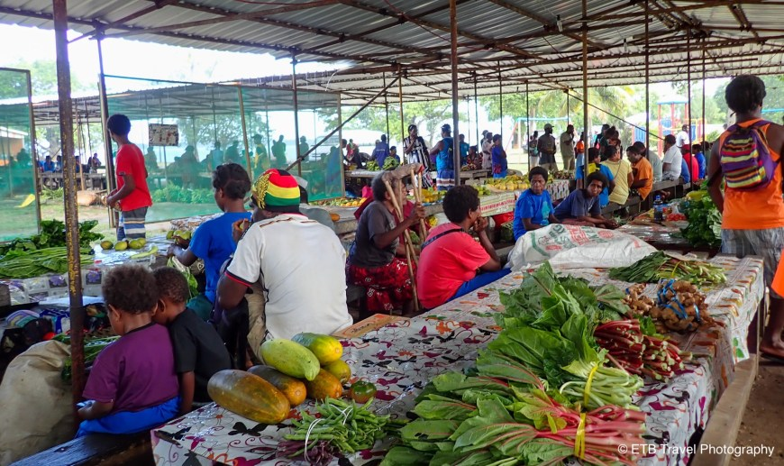 Luganville Market
