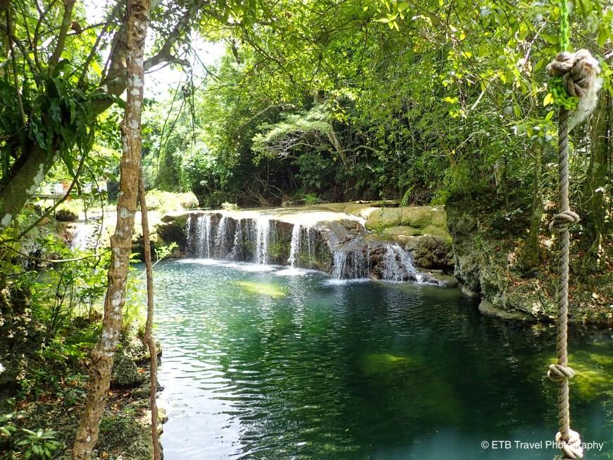 Rarru rentapao river cascades in efate