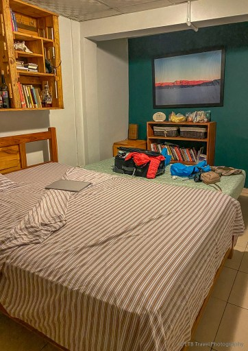 bedroom at my homestay in Panama