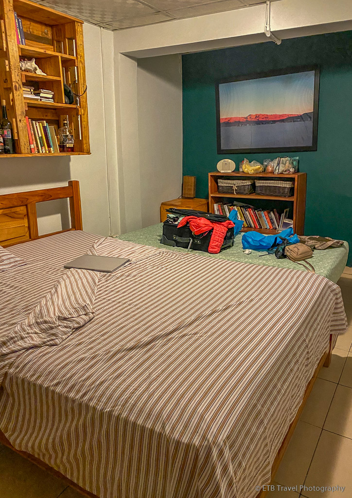 my room at my homestay in Panama