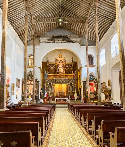 Iglesia La Merced in Casco Viejo Panama