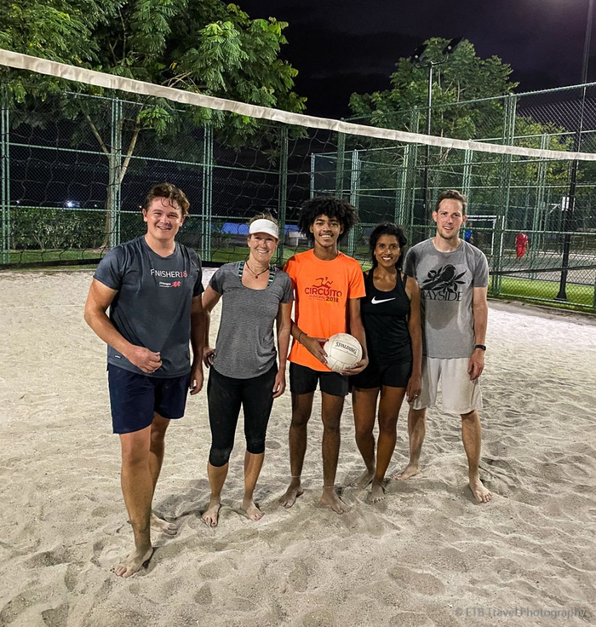 sand volleyball in Panama